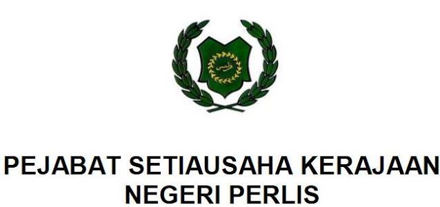 Jawatan Kosong Pejabat Setiausaha Kerajaan Negeri Perlis April 2018