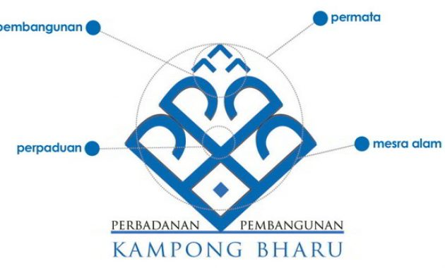 Logo Perbadanan Pembangunan Kampong Bharu